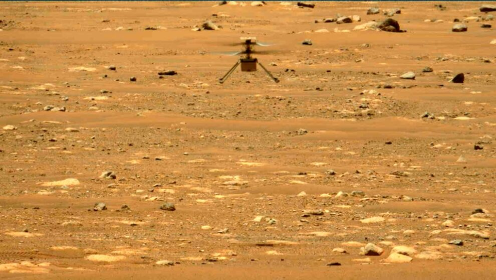 Mars helicopter Ingenuity goes into a tailspin