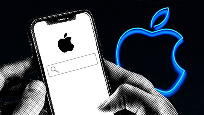 Apple is said to have preferred its own files app in searches