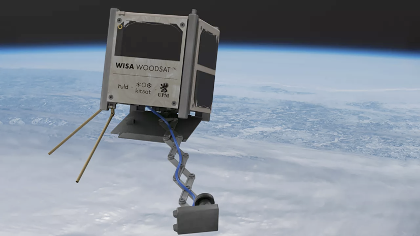 Esa and Finnish project are building a wooden satellite
