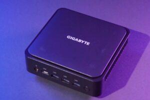 Gigabytes mini PC has Ryzen 5000 and ports for four monitors